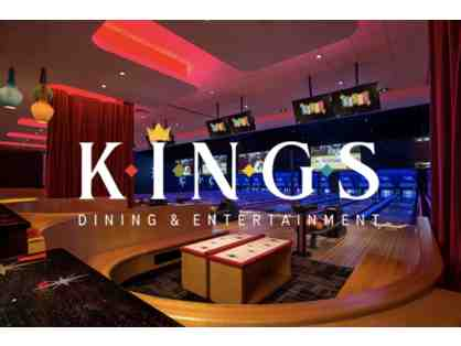 1 Kings Bowling & Pizza Party For 6 (Dedham Location)