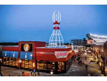 1 $25 Splitsville Luxury Lanes Gift Card (Patriots Place)