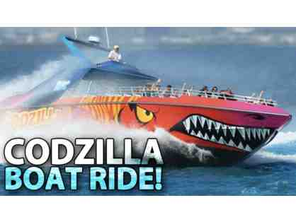 1 Codzilla Gift Card- 2 Adults & 2 Children