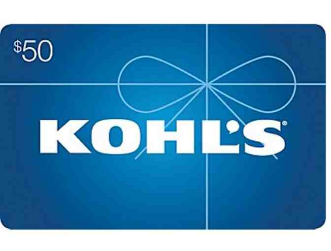 1 $50 Kohl's Gift Card - Photo 1