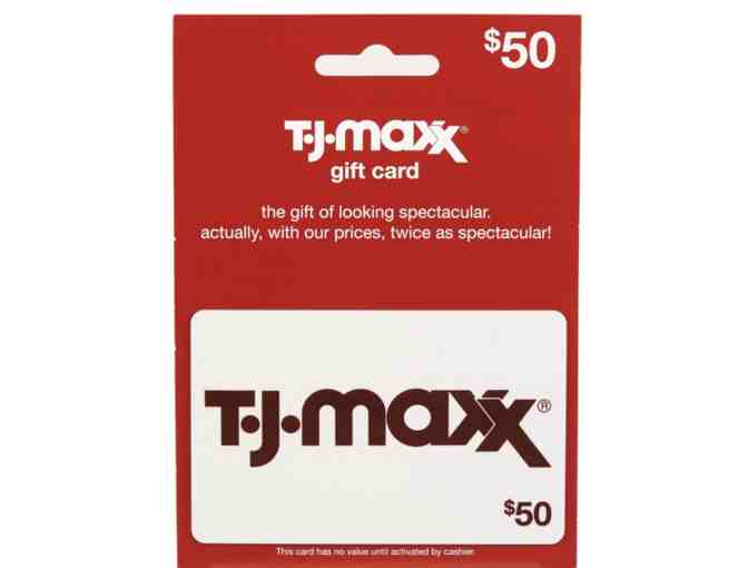 1 $50 T.J.Maxx Gift Card - Photo 1