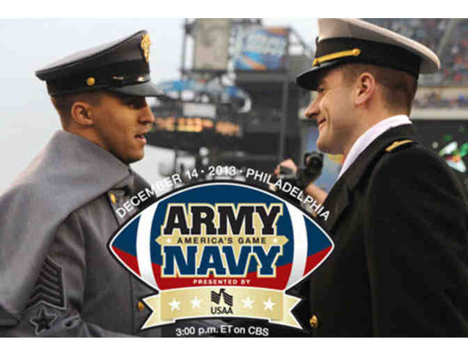 2 TICKETS ARMY NAVY FOOTBALL GAME SATURDAY, DEC. 13, 2014 M&T BANK STADIUM - Photo 1
