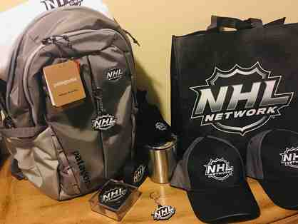 Hockey Backpack INCLUDING Signed Hockey Puck by NY Rangers  Chris Kreider