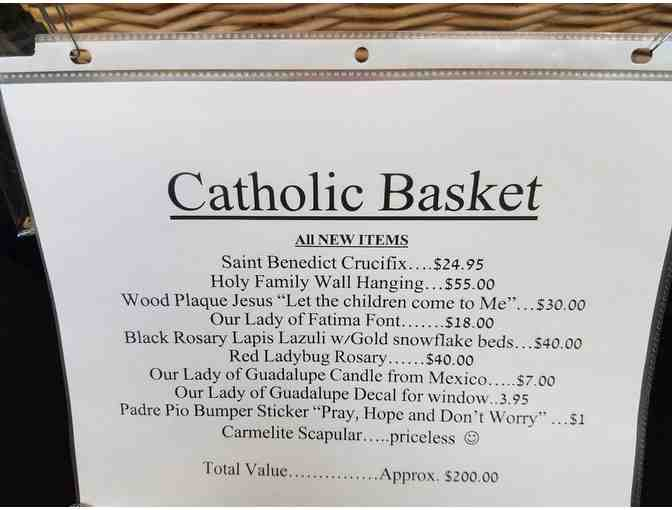 Catholic Basket - Photo 3