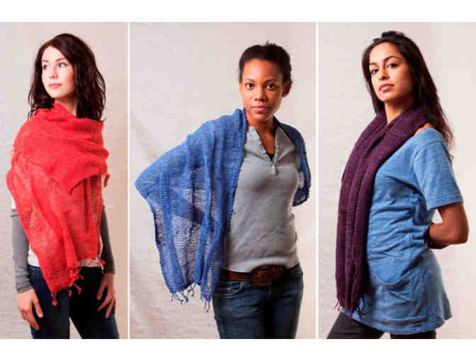 Free Weave Scarf - Photo 2