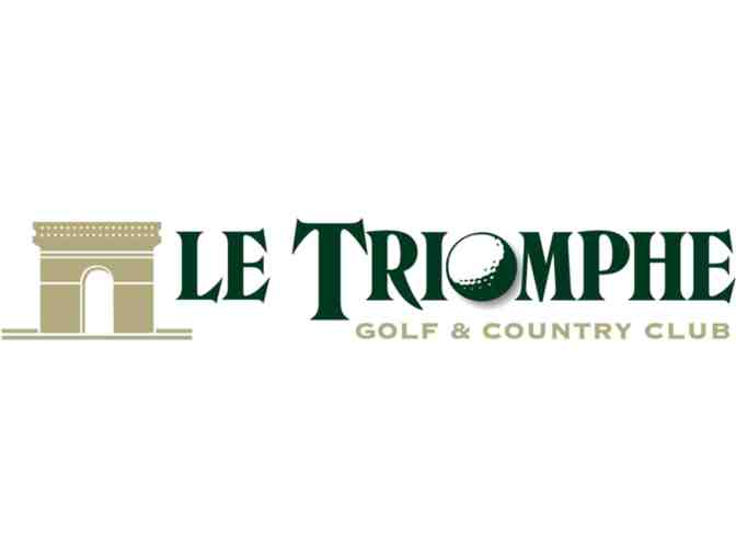 Le Triomphe round of golf for 4 people - Photo 2