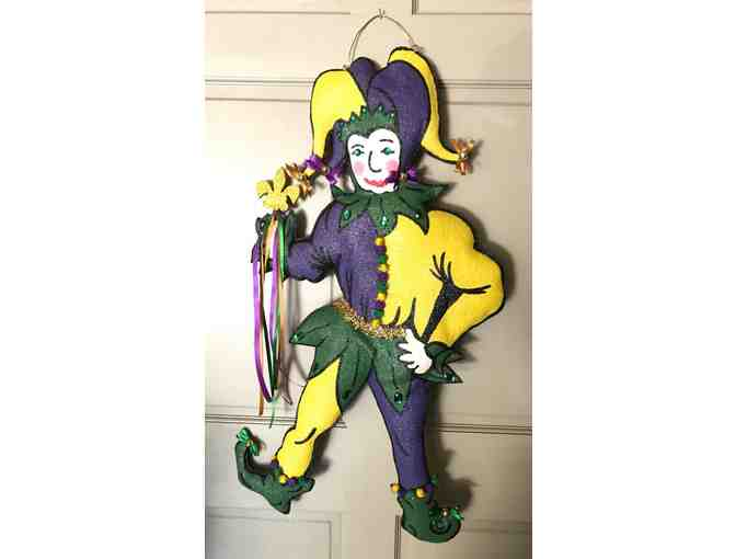 Door Hanging - Mardi Gras by Ginger Comeaux - Photo 1
