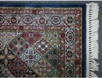 Burlington Industries Pahlavi Rug, 4' x 6'