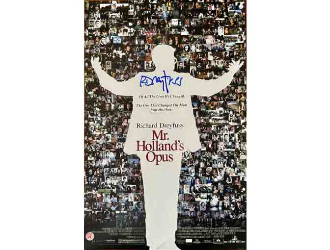 Mr. Holland's Opus 11x17 Poster, signed by Richard Dreyfuss!