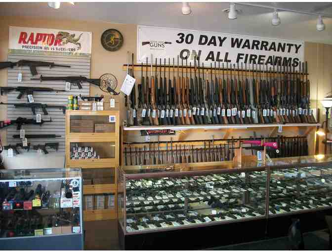 $250 FIREARMS or ACCESSORIES Gift Certificate Trigger Happy Guns - Photo 1