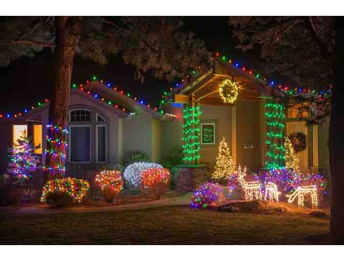 $1000 Christmas Lights R Us certificate