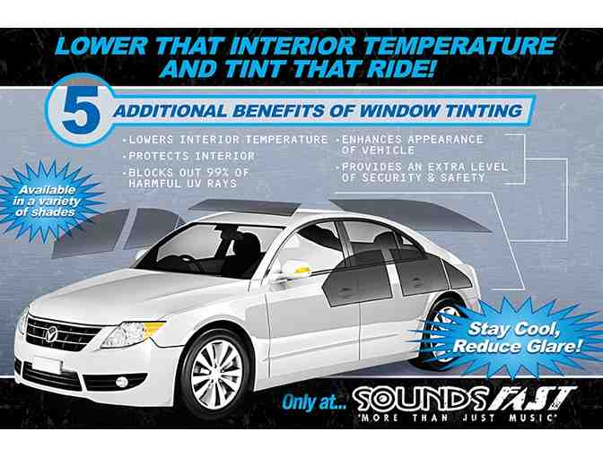 Complete Solar Gard vehicle Window Tint from Sounds Fast Bend OR