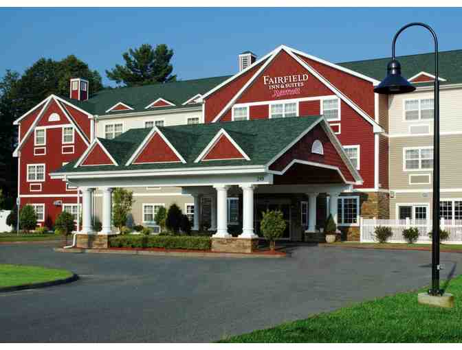 One Night Stay at Fairfield Inn & Suites - Berkshires