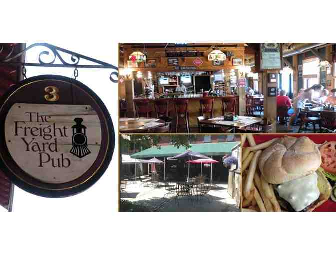 $25 Voucher to Freight Yard Pub & Restaurant