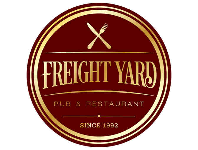 $25 Gift Voucher to Freight Yard Pub & Restaurant