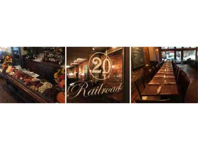 $25 Gift Card for 20 Railroad Public House