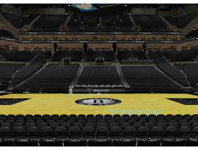 2 tickets Row 1 VIP Center-court  Nets vs Hornets on Dec 11 - Photo 1
