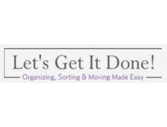 3 Hours of Organization Strategies for Your Home, Office, or Move from Let's Get It Done! - Photo 2