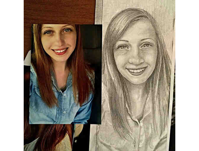 Drawing From Your Photo: One Portrait Any Size