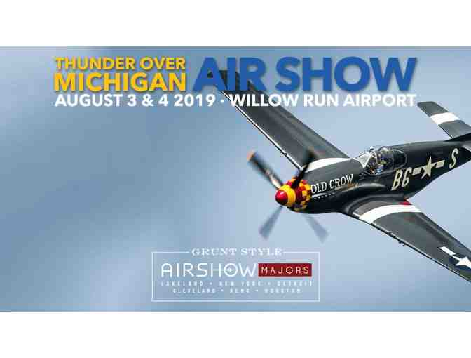 Family Four Pack and Parking to Thunder Over Michigan Air Show