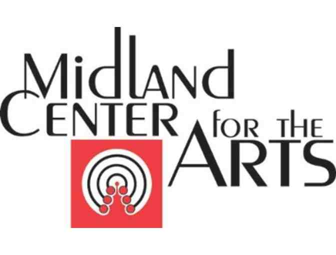 Midland Center for the Arts Tickets and Merchandise Gift Basket