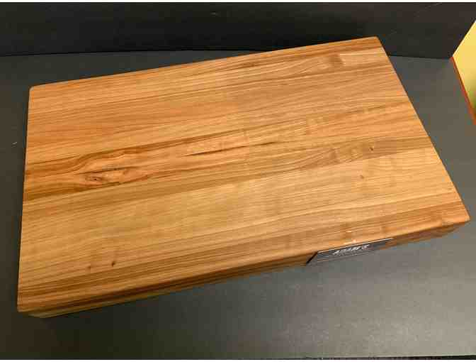 One-of-a-Kind Cherry Edge Grain Cutting Board (Large)