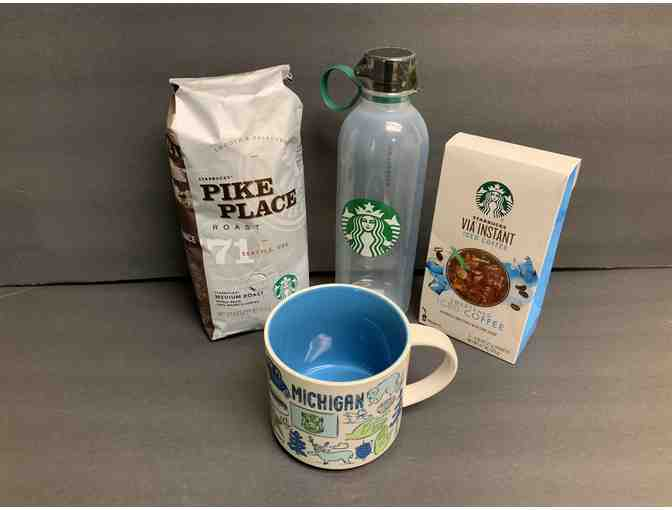 Starbucks Michigan Hot and Cold Gift Bag