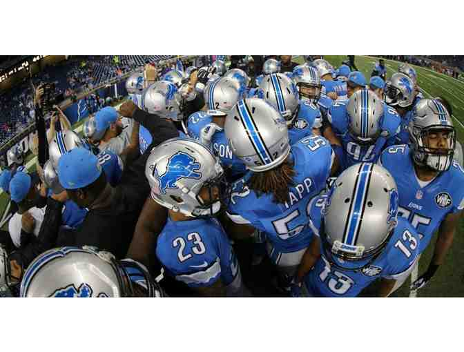 Four Tickets: Detroit Lions vs. Tampa Bay Buccaneers Lower Level Sideline