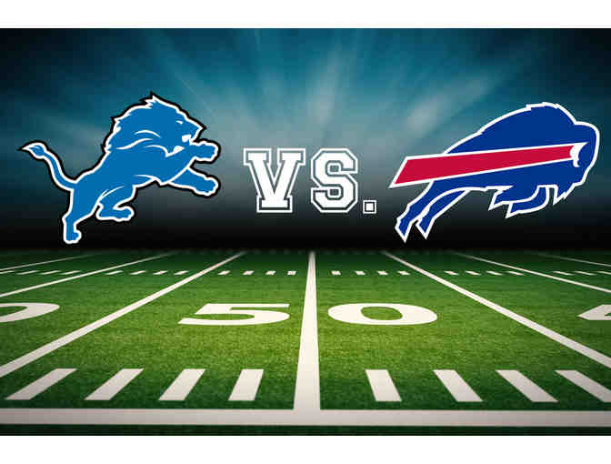 Four Tickets: Detroit Lions vs. Buffalo Bills Lower End Zone
