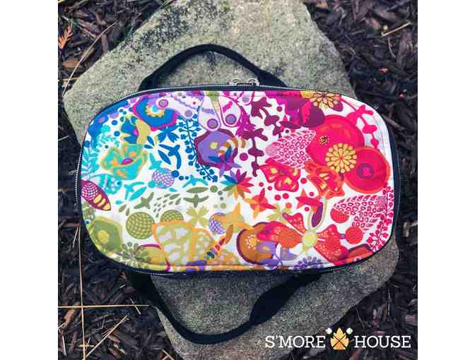 Colorful Makeup Bag and Toiletry Case