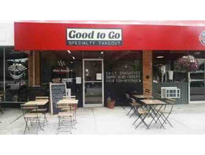 Lunch at Good to Go