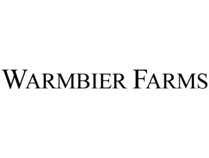 Warmbier Farms $30 Gift Certificate