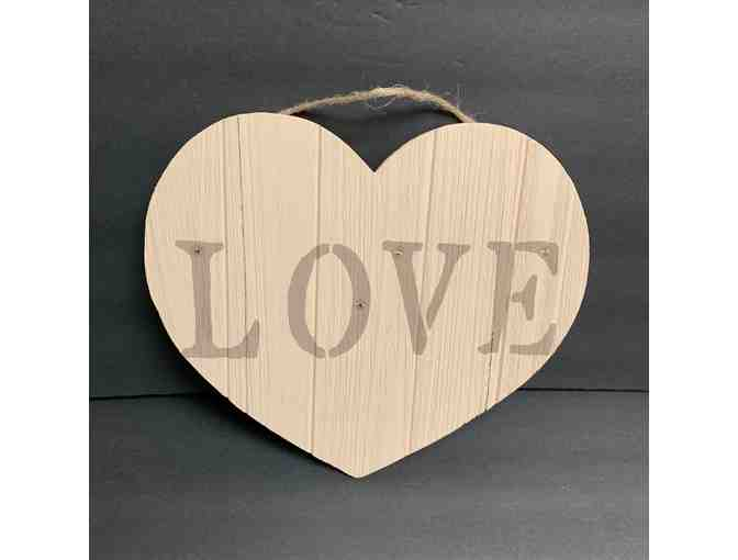 'Love' Wood Wall Hanging