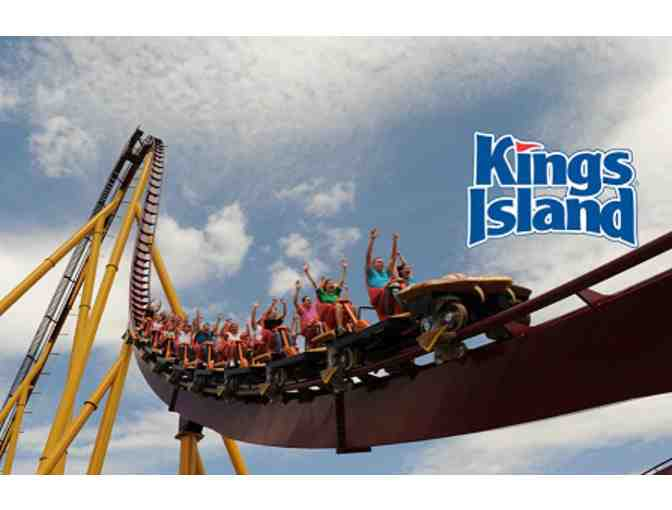 2 Admission Tickets to Kings Island Amusement Park - Photo 1