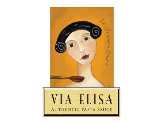 Via Elisa Pasta Sauces and Atlanta Cooks at Home Cookbook