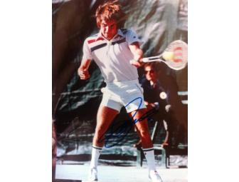 Certified Signed Photo of Jimmy Connors