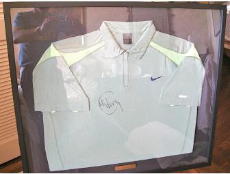 Framed Shirt Signed by Lleyton Hewitt