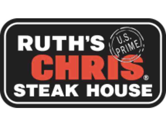Ruth Chris Steak House $50 gift card.