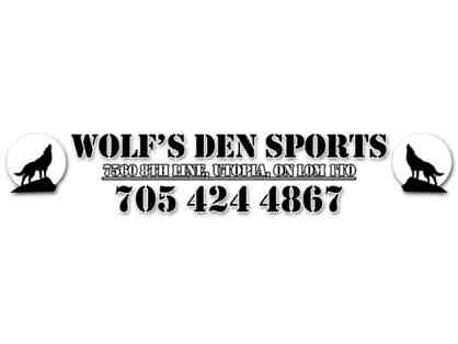 Wolf's Den Sporting Supplies Ltd. - 10 free passes