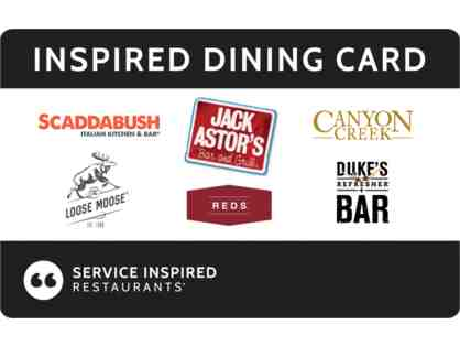 Gift Card - Inspired Dining Card