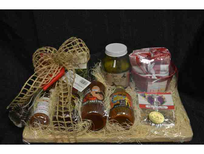 BBQ Gift Basket from Mecca Coffee