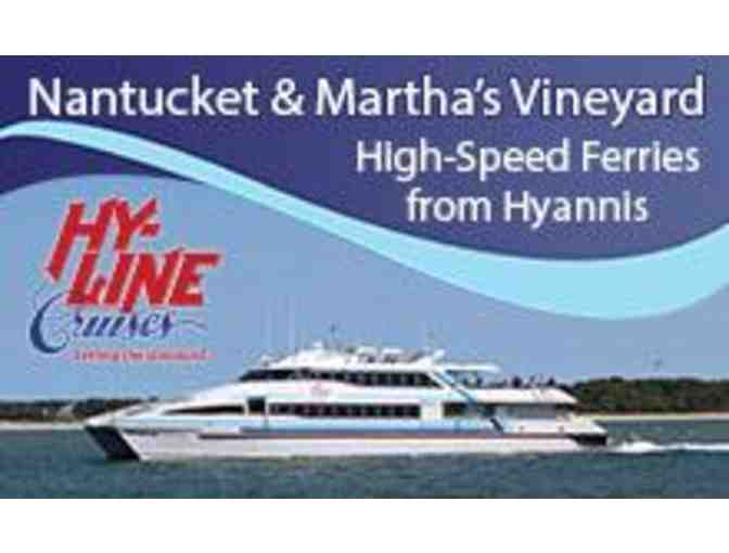 Round Trip on High-Speed Martha's Vineyard/Hyannis Ferry for 2 people