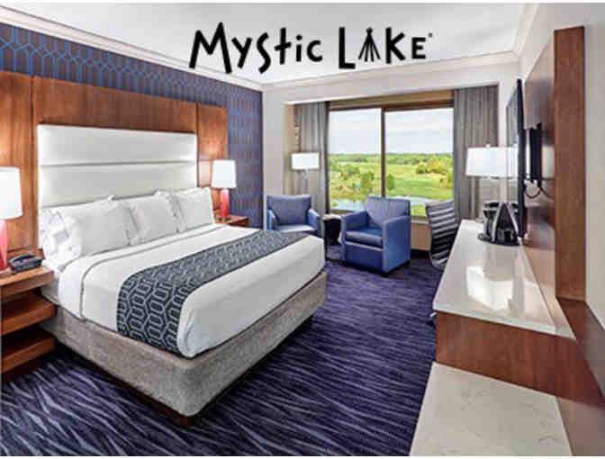 1 Night Hotel stay at Mystic Lake Hotel & Gift Cert to Minnehaha Cafe