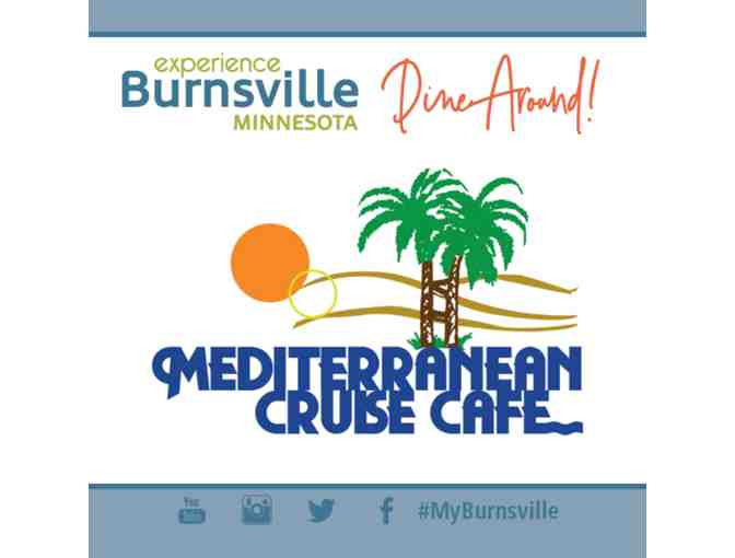 $20 Gift Card to Mediterranean Cruise Cafe