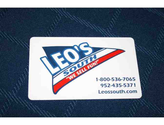 $25 gift card to Leo's South