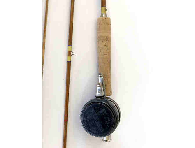 1949 Handmade Bamboo Fly Rod/ for display