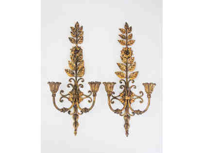 Antique Metal Wall Sconces