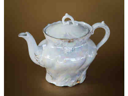 Vintage Germany Weimar Porcelain Tea Pot