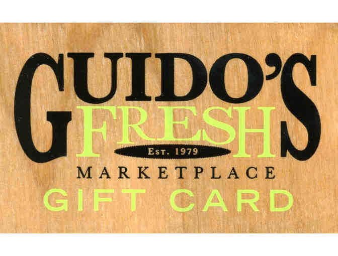 $25 Gift card to Guido's - Photo 1