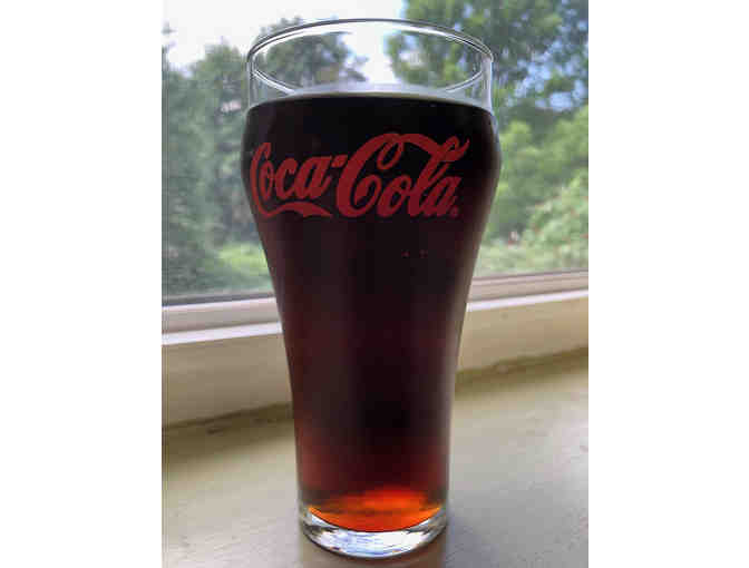 18 classic Coca-Cola glasses with red imprint - Photo 2